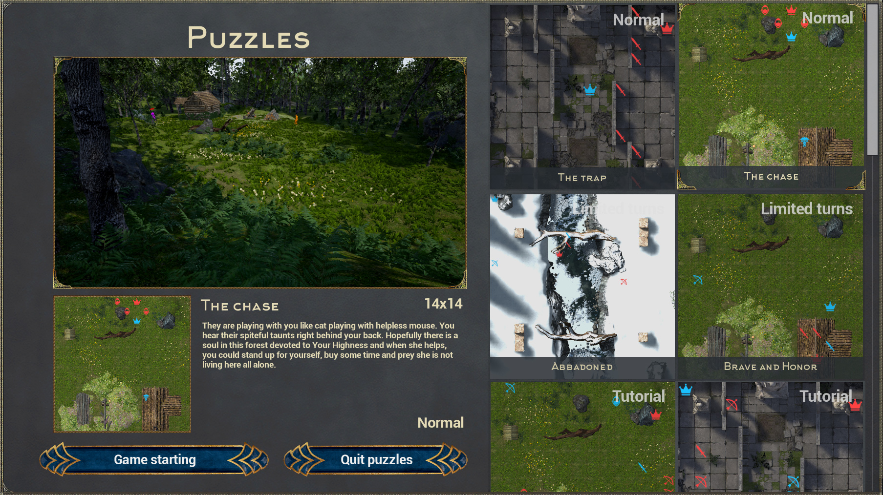 Puzzles review