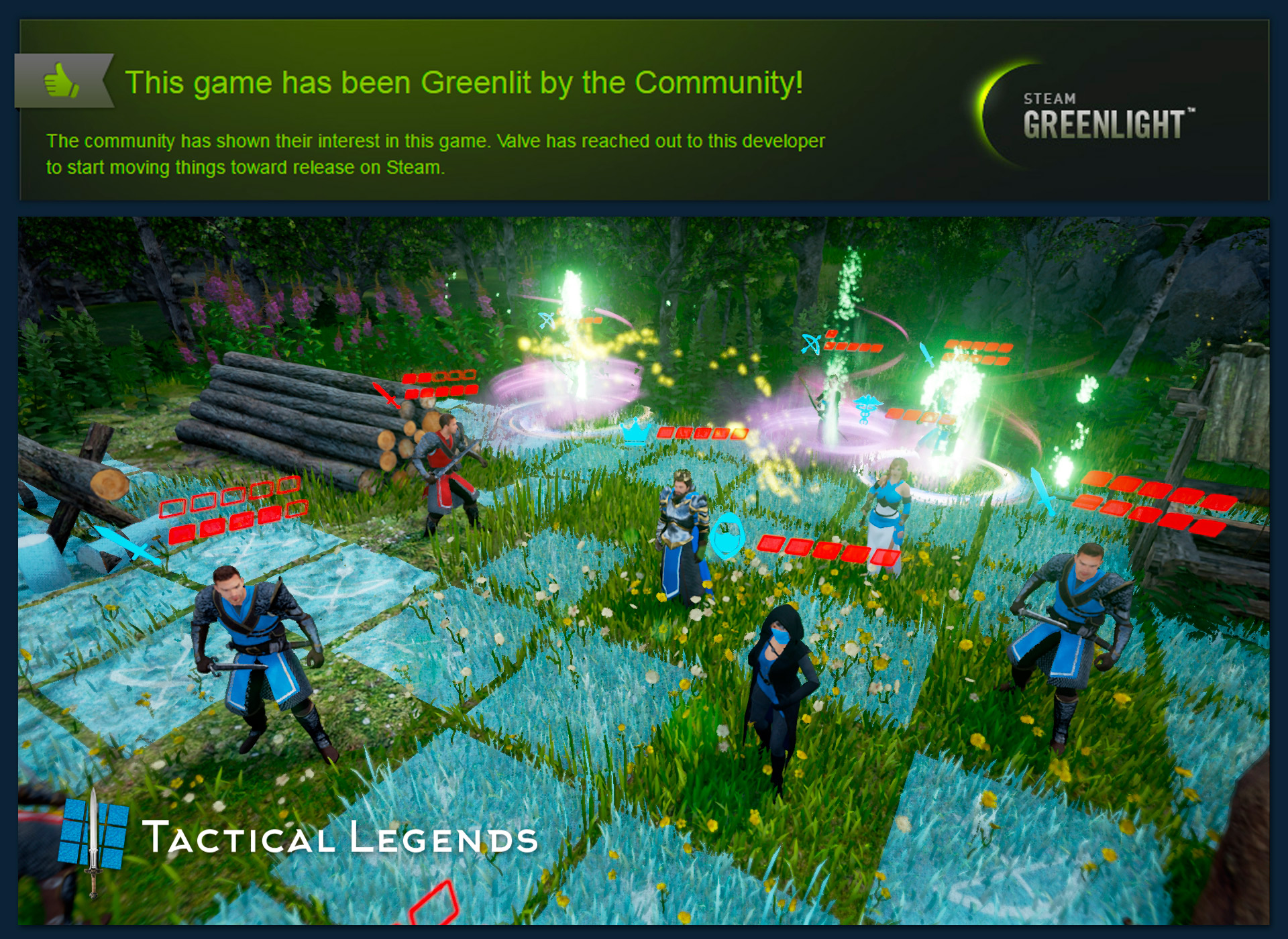 TACTICAL LEGENDS HAS BEEN GREENLIT!